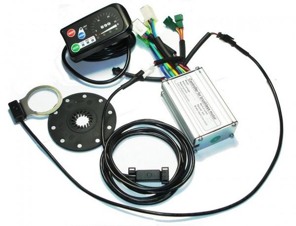 KT Square Controller Kit 24/36V 250W sensor/sensorlose Motoren