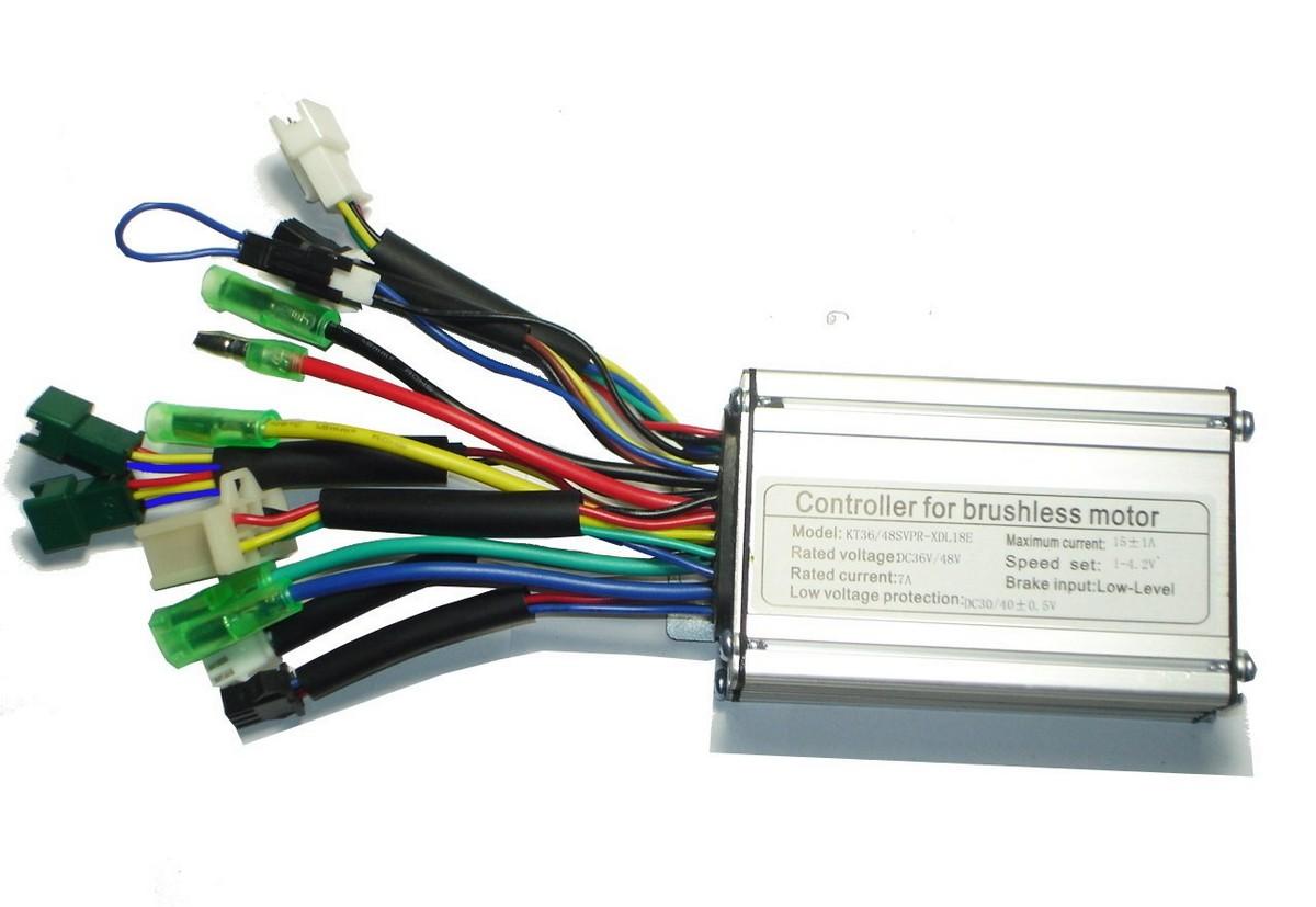 Kunteng Sinus Controller 36/48V 250W Sensor Motor