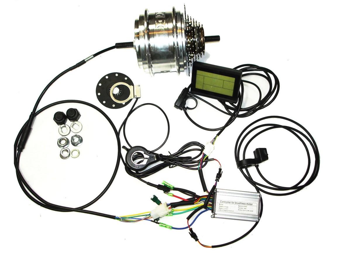 Hinterrad Double speed Pedelec Kit Xiongda 2-Gang 36V 250W